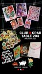 Club Crab at SakuraCon 2015, Table 204! by Rin-Uzuki
