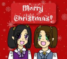 Merry Christmas 2010 by DRei-chan