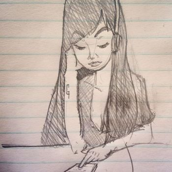 Sketching by animaniac19