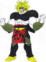 Saiyan Cell_Broly LSS1 Absorbed by DBZ2010