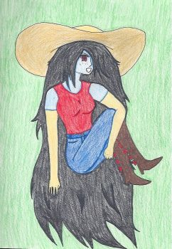 Marceline Door Lord by kamina13forever