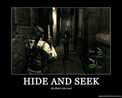 Hide and Seek by Captain-AlbertWesker