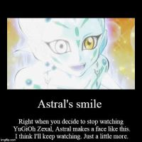 Astral is smiling by ZeldaWolfPrincess