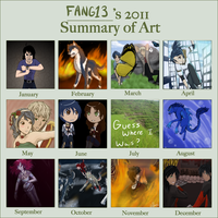 2011 art summary by Ocrienna