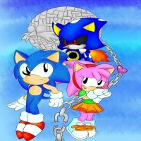 Sonic CD :4 by fansonic