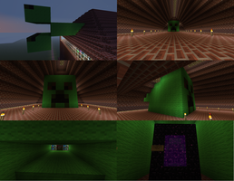 My House- The Creeper by Natto1995
