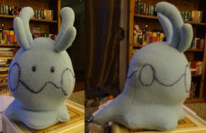 Goomy Plush Prototype by ChibiTigre