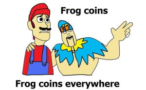 Frog coins Everywhere by FunnyDank