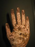 Fresh Mehndi Minimalist by AbstractWater