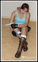 Lara Croft Shoot - 4 by Madenice