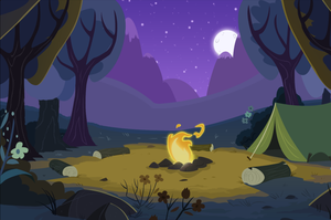 MLP Camping Background by Scootaloo24