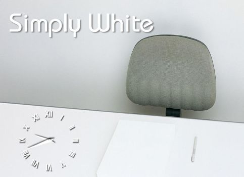 Simply White by jeremy182001
