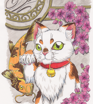 Lucky Cat by Ryph