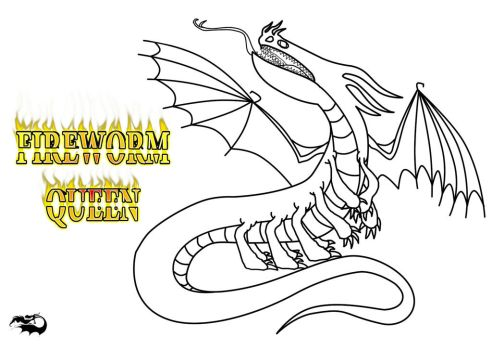 razorwhip coloring pages - fireworm explore fireworm on deviantart