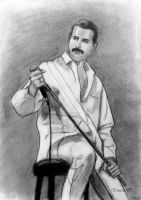 Freddie Mercury by DrowseART