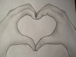 Hand Heart by grenouille-rousse