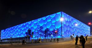 Beijing Watercube by StephUnplugged