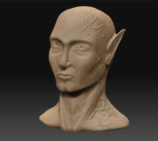 first ever ZBrush sculpt by seriousx9