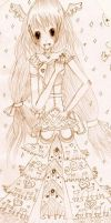 Ambient Princess Sketch by SHikimi-Lolita