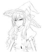 Marisa Line art by Kimmiku