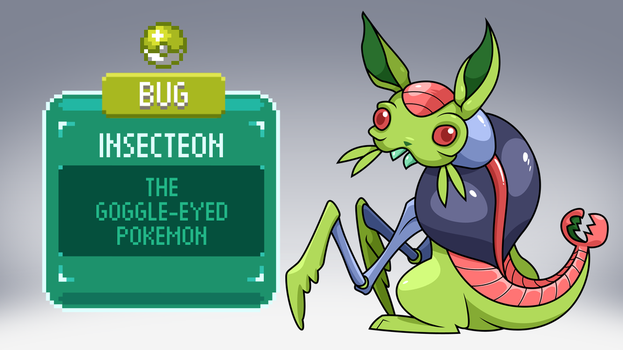 The Other Eevee Evolutions: Insecteon by ClubAdventure