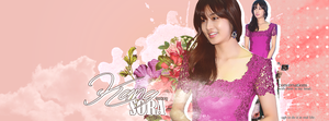 Kang Sora Facebook Cover by utanops