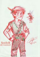 Peter Pan by SerifeB