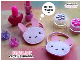 kyaaa.biz - Bunny Hairbands by shiricki