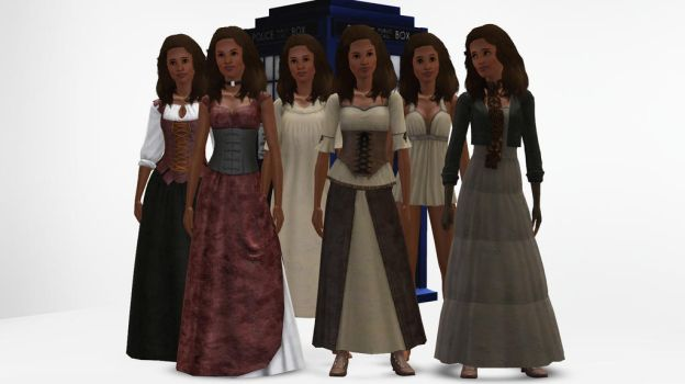 The Sims 3 - Doctor Who - Rosita Farisi by exangel42