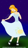 Cinderella of the 1950s by elizabethbluecatfish