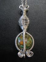 Cage and Basket Pendant by shatterheart