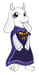 tiny toriel by hip-indeed