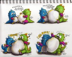 Bubble Battle 1,2,3,4 by Inflato-Phraggle