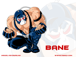 Bane Wallpaper by stanmx