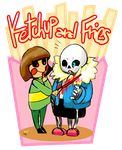 Undertale Ketchup And Fries by Amely14128