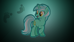 Striped Lyra wallpaper by rhubarb-leaf