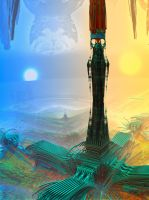 Infinity Tower by MANDELWERK