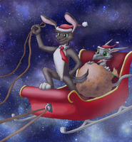 Sleigh Thieves by Kaykao