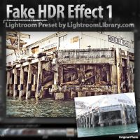 Lightroom Preset - HDR Effect by LightroomLibrary