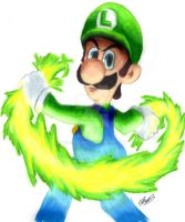 Epic Luigi by kcjedi89