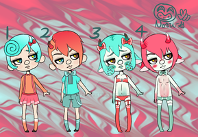 Crack Babes Batch 20 (CLOSED) by Norri-girl