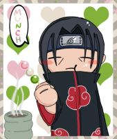 Itachi Likes Dango by tooneyfish