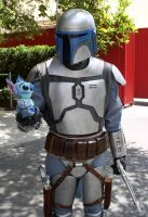 Stich and Jango by nightprincess