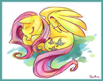Flutter Slumber by PashaPup