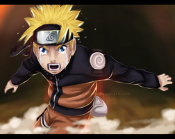 Shut up - Naruto Uzumaki by iGeerr