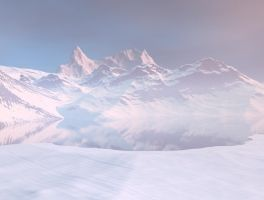 mountains background 3 by indigodeep