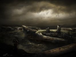 another shipwreck work! by duncanli