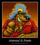 Mourad le Pirate by Quimtuk