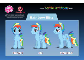 Rainbow Blitz Puppet Rig by dashofrainbow235