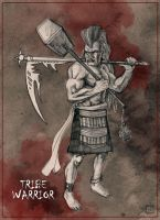 Tribe Warrior Character Design by bfowler